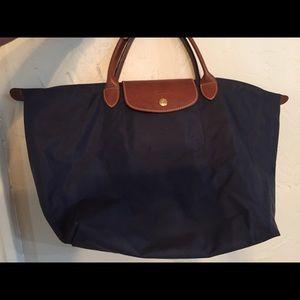 Longchamp -Navy Bag